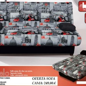 Sofá cama Abatible