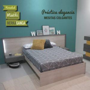 Dormitorio con Mesitas Colgantes