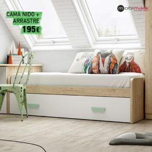 Cama Nido + Arrastre Grandes Estudiantes